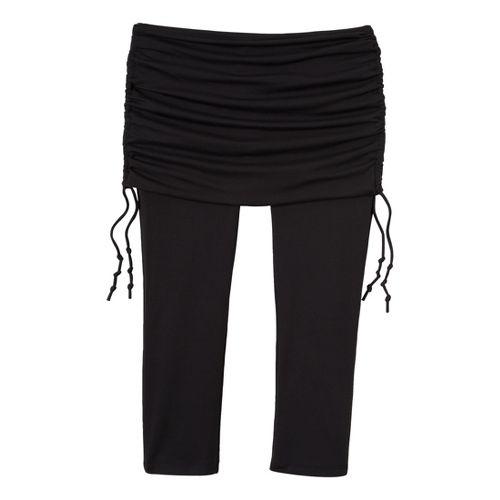 Womens Prana Cassidy Capri Tights - Black M