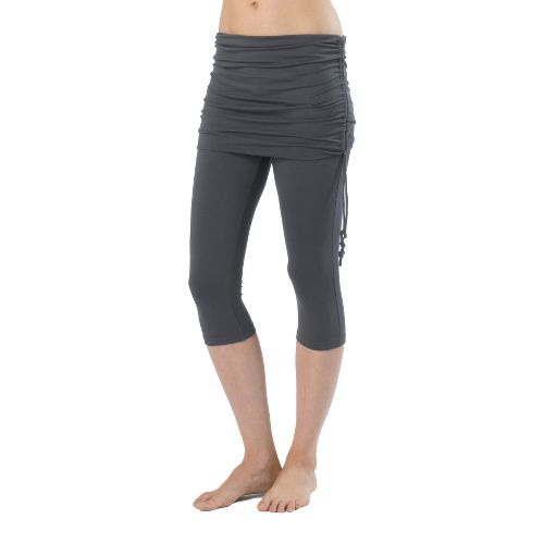 Womens Prana Cassidy Capri Tights - Coal S