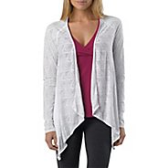 Womens Prana Julz Burnout Wrap Warm-Up Unhooded Jackets