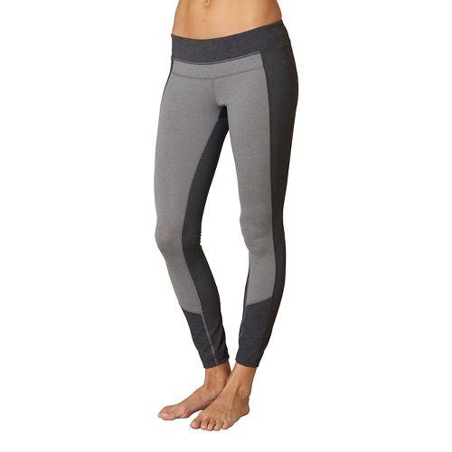 Womens Prana Gabi Tights & Leggings Pants - Charcoal Heather XL