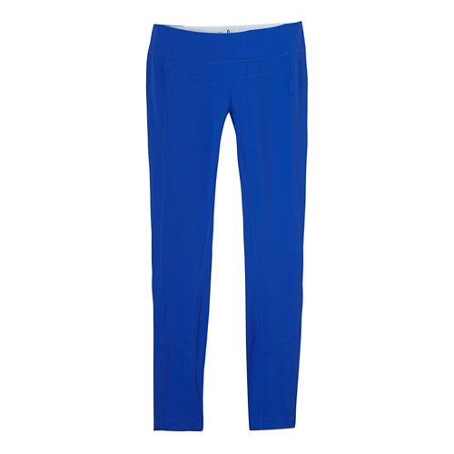 Womens Prana Gabi Legging Fitted Tights - Blue Jay M