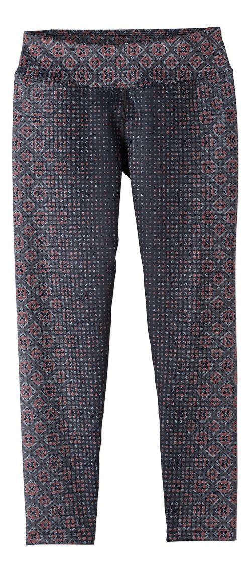 Womens Prana Roxanne Printed Tights & Leggings Pants - Orange XL