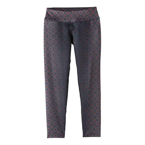 Womens Prana Roxanne Printed Tights & Leggings Pants - Orange S