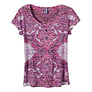 Womens Prana Reflect Short Sleeve Technical Tops