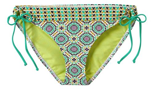Womens Prana Saba Bottom Swimming Swim - Cool Green Sundial S