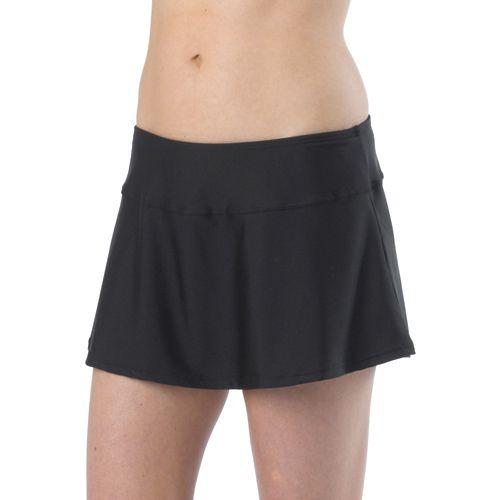 Womens Prana Sakti Swim Skirt Swimming - Black L