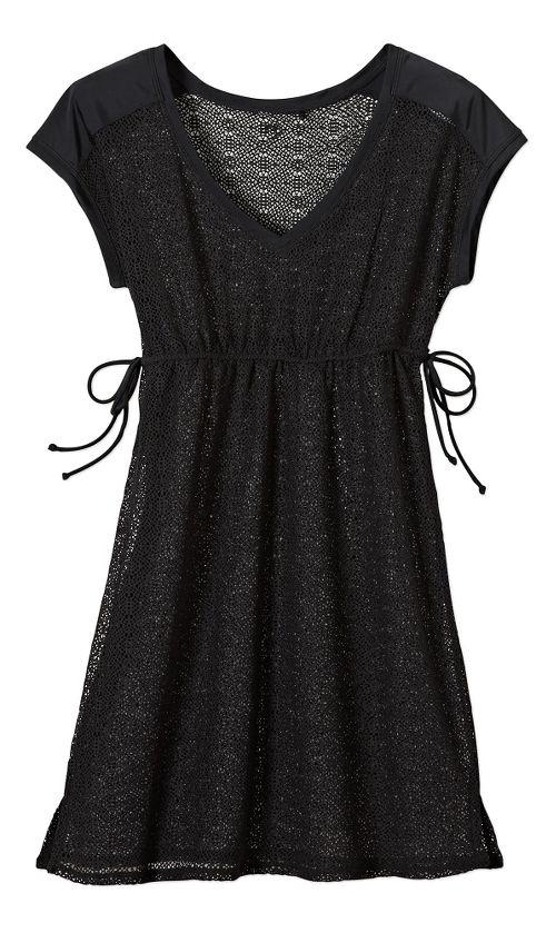 Womens Prana Elliot Dress Skirt Fitness Skirts - Black M