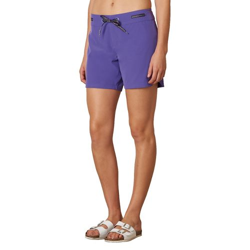 Womens Prana Silvana Boardshort Compression & Fitted Shorts - Ultra Violet S