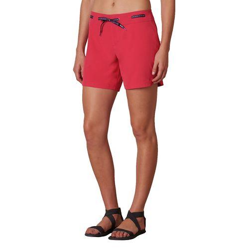 Womens Prana Silvana Boardshort Compression & Fitted Shorts - Azalea S