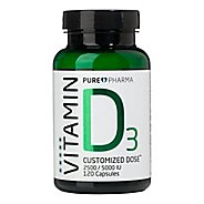 PurePharma D3 - Vitamin D Customized Dose Nutrition