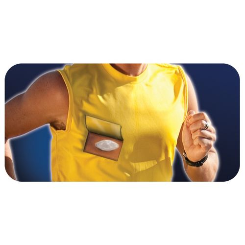 Pro-Tec Athletics LiquiCell Nipple Protectors Injury Recovery - Clear