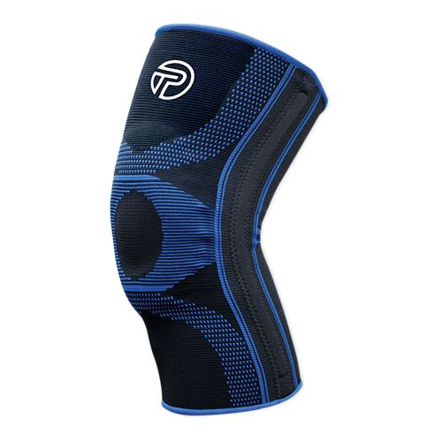 Pro-Tec Athletics Gel-Force Knee Sleeve Injury Recovery - Black/Blue L