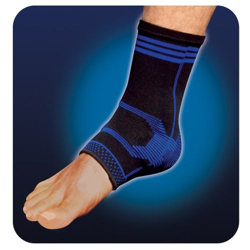 Pro-Tec Athletics Gel-Force Ankle Support Injury Recovery - Blue L