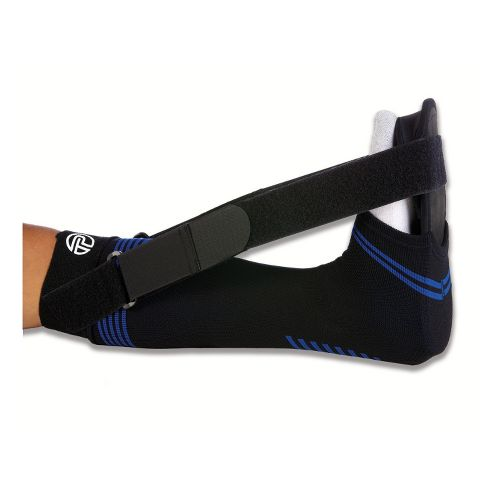 Pro-Tec Athletics Soft Splint For Plantar Fasciitis Injury Recovery - Black S