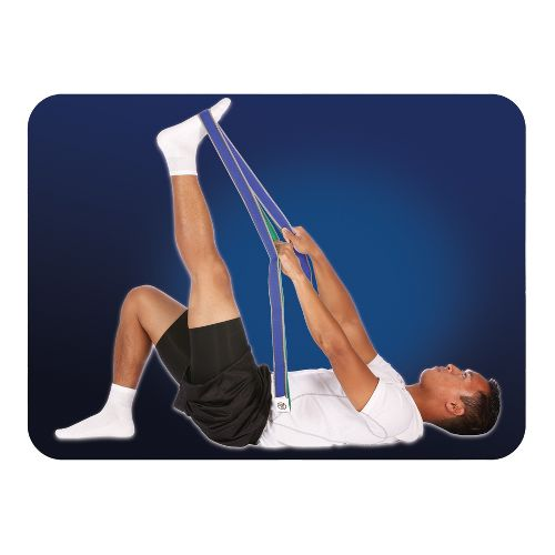 Pro-Tec Athletics Stretch Band With Grip Loop Injury Recovery - Blue