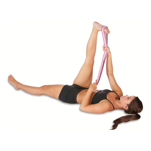 Pro-Tec Athletics Stretch Band With Grip Loop Injury Recovery - Pink
