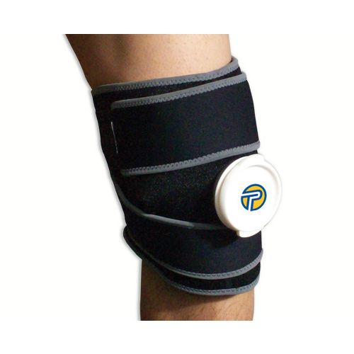 Pro-Tec Athletics Ice Cold Therapy Wrap-Small Injury Recovery - Black S