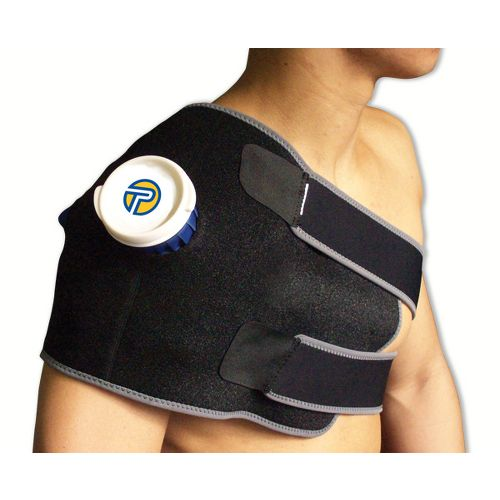 Pro-Tec Athletics Ice Cold Therapy Wrap-Large Injury Recovery - Black L