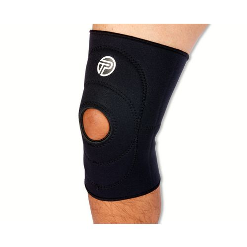 Pro-Tec Athletics Knee Sleeve Open Patella Injury Recovery - Black XL