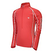 Mens Pearl Izumi Fly Evo Pullover Long Sleeve Top 1/2 Zip Technical Tops