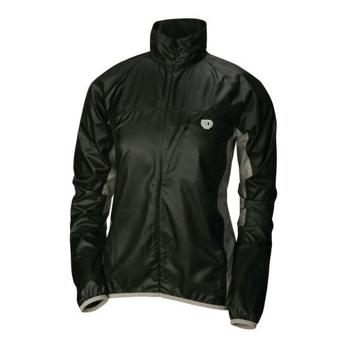 Womens Pearl Izumi Fly Running Jackets - Black/Martini L