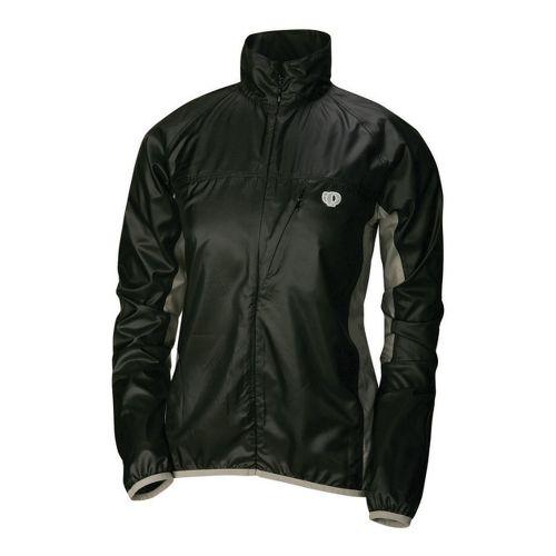 Womens Pearl Izumi Fly Running Jackets - Black/Martini M