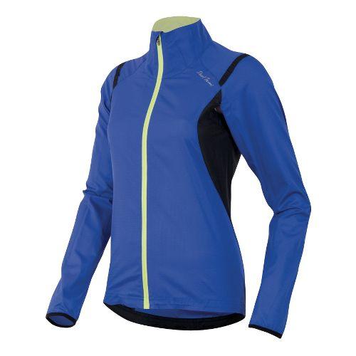 Womens Pearl Izumi Fly Running Jackets - Dazzling Blue/Black L