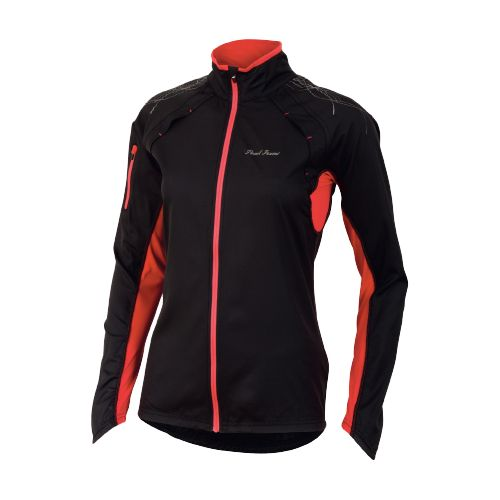 Womens Pearl Izumi Infinity Running Jackets - Black/Paradise Pink S