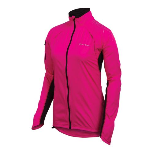 Womens Pearl Izumi Infinity Running Jackets - Pink Punch/Black L