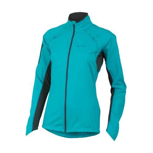 Womens Pearl Izumi Infinity Running Jackets - Scuba Blue/Shadow Grey L