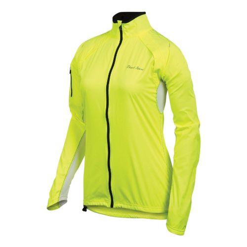 Womens Pearl Izumi Infinity Running Jackets - Screaming Yellow/Black L