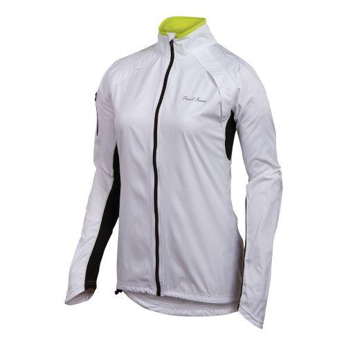 Womens Pearl Izumi Infinity Running Jackets - White/Black M