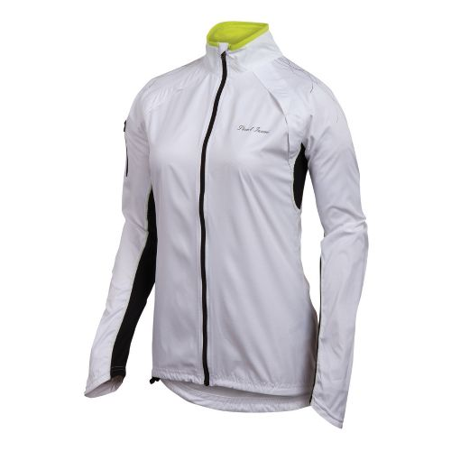 Womens Pearl Izumi Infinity Running Jackets - White/Black S
