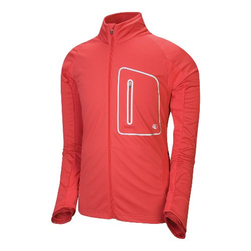 Mens Pearl Izumi Infinity Softshell Running Jackets - Chili Pepper/Diablo Red S