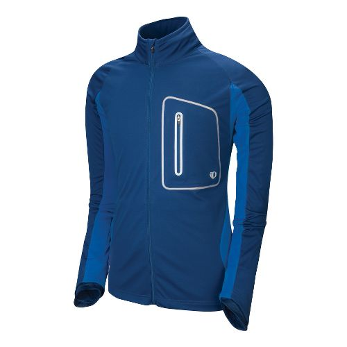 Mens Pearl Izumi Infinity Softshell Running Jackets - Midnight Blue/Water Blue M
