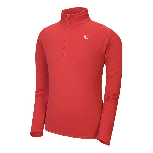 Mens Pearl Izumi Therma Phase Top Long Sleeve No Zip Technical Tops - Chili Pepper ...