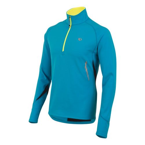 Mens Pearl Izumi Therma Phase Top Long Sleeve No Zip Technical Tops - Electric Blue ...