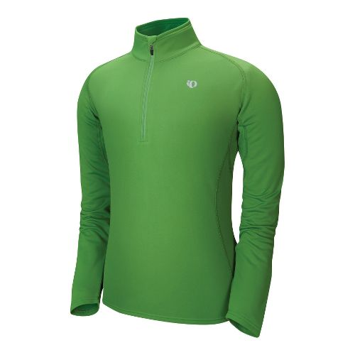 Mens Pearl Izumi Therma Phase Top Long Sleeve No Zip Technical Tops - Green Grass ...