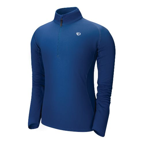 Mens Pearl Izumi Therma Phase Top Long Sleeve No Zip Technical Tops - Midnight Blue ...