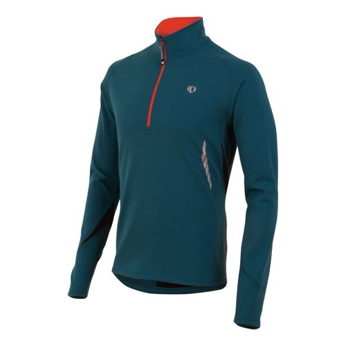 Mens Pearl Izumi Therma Phase Top Long Sleeve No Zip Technical Tops - Petrol Blue ...