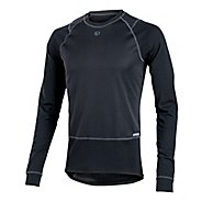 Mens Pearl Izumi Barrier Long Sleeve Baselayer No Zip Technical Tops