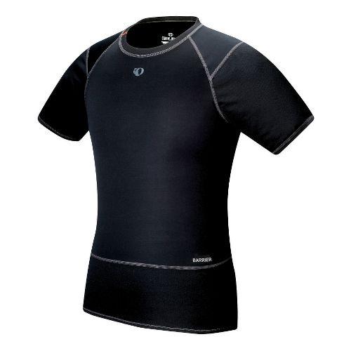Mens Pearl Izumi Barrier Short Sleeve Baselayer Technical Tops - Black L