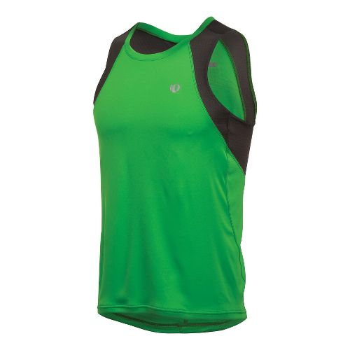 Mens Pearl Izumi Infinity In-R-Cool Singlet Technical Tops - Fairway/Shadow Grey XXL