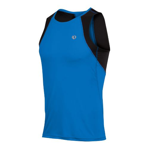 Mens Pearl Izumi Infinity In-R-Cool Singlet Technical Tops - True Blue/Black L