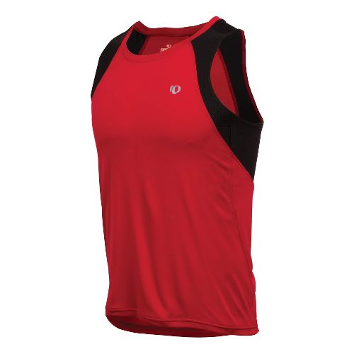 Mens Pearl Izumi Infinity In-R-Cool Singlet Technical Tops - True Red L