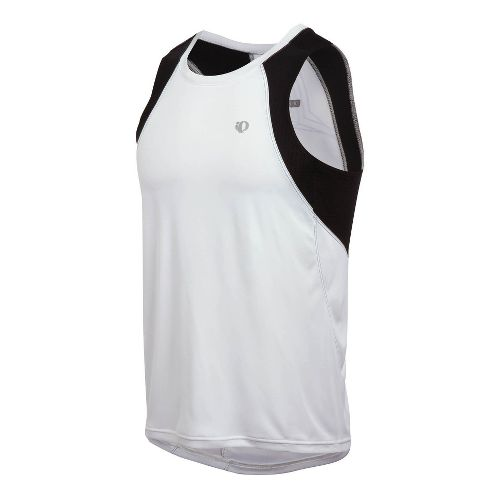 Mens Pearl Izumi Infinity In-R-Cool Singlet Technical Tops - White L