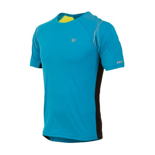 Mens Pearl Izumi Infinity In-R-Cool SS Short Sleeve Technical Tops - Electric Blue/Screaming ...