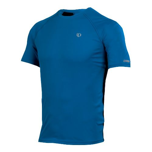 Mens Pearl Izumi Infinity In-R-Cool SS Short Sleeve Technical Tops - True Blue/Black S