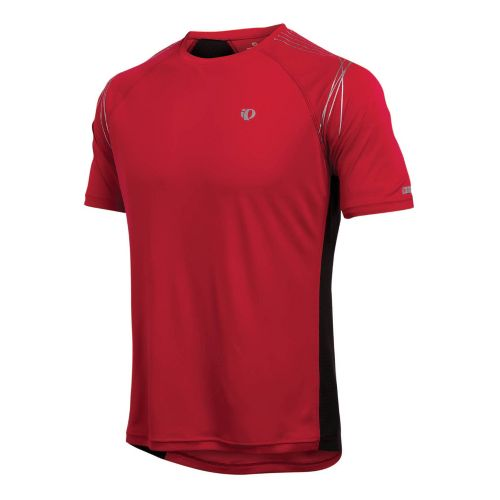 Mens Pearl Izumi Infinity In-R-Cool SS Short Sleeve Technical Tops - True Red XXL
