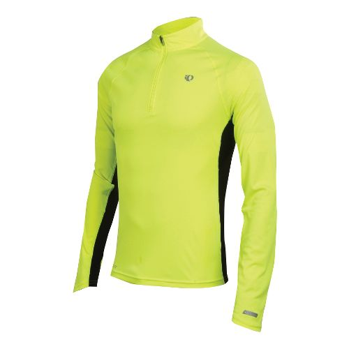 Mens Pearl Izumi Infinity In-R-Cool LS Long Sleeve 1/2 Zip Technical Tops - Screaming ...